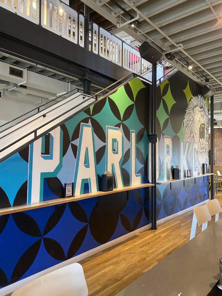 Parlor Bar Mural
